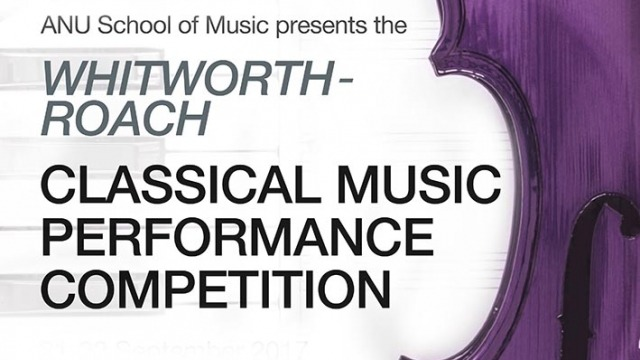 Whitworth-Roach Classical Music Performance Competition Heats
