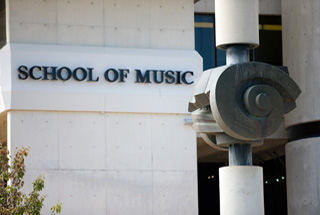 The ANU School of Music building